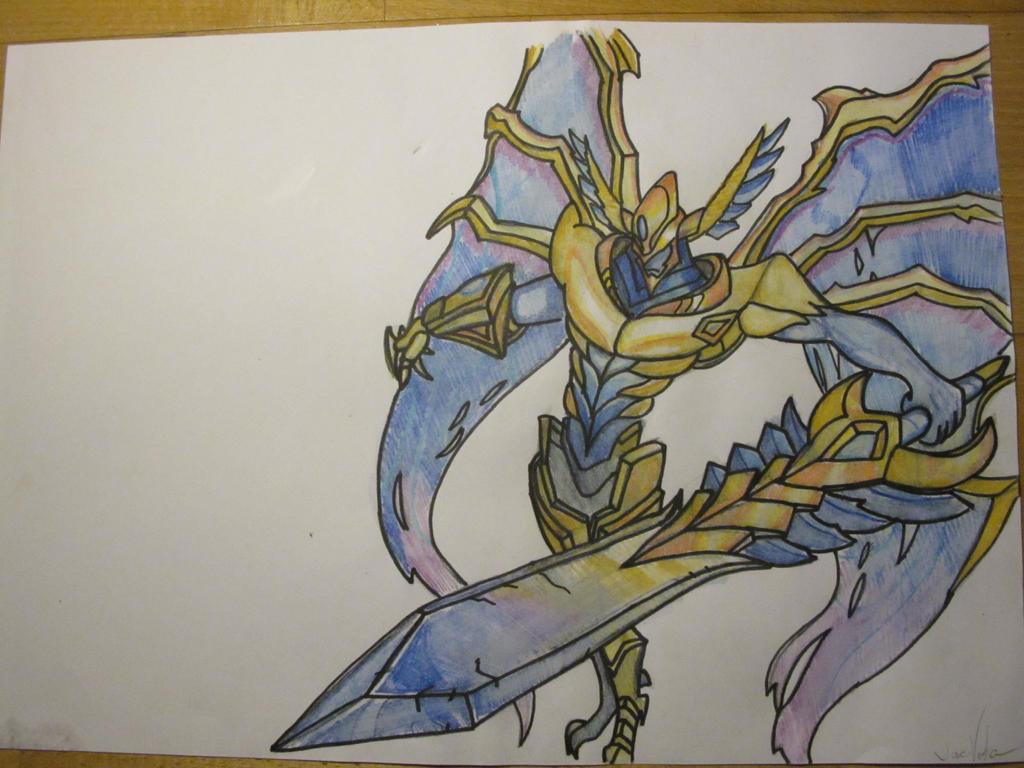 League of Legends Justicar Aatrox Drawing by ILommiI on ...