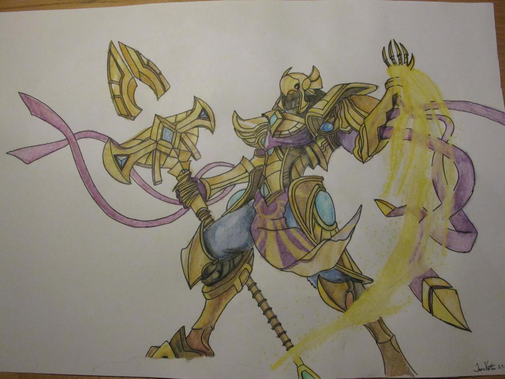 League of Legends Azir Drawing by ILommiI on DeviantArt