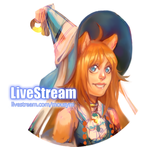 Livestream ONLINE [PL mic] by MousyM