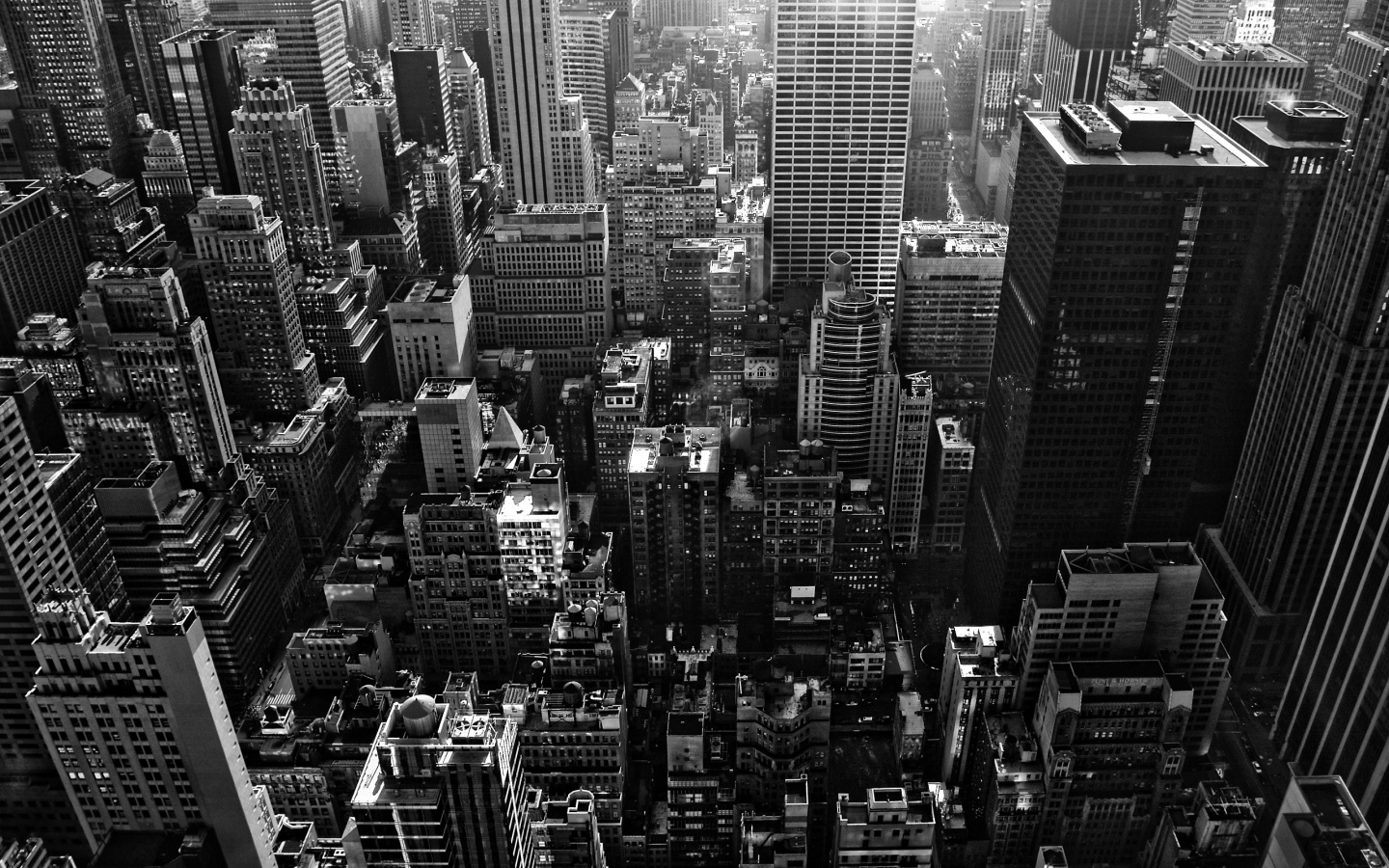 New York Black And White by Morgadu