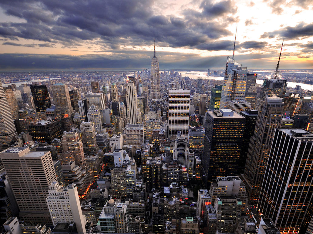 New York Rockefeller's View by Morgadu