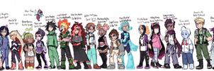 Hero Academia OC class! by Coonae