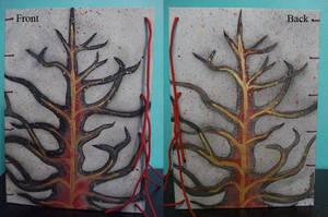 Handmade Sketchbook Front and Back