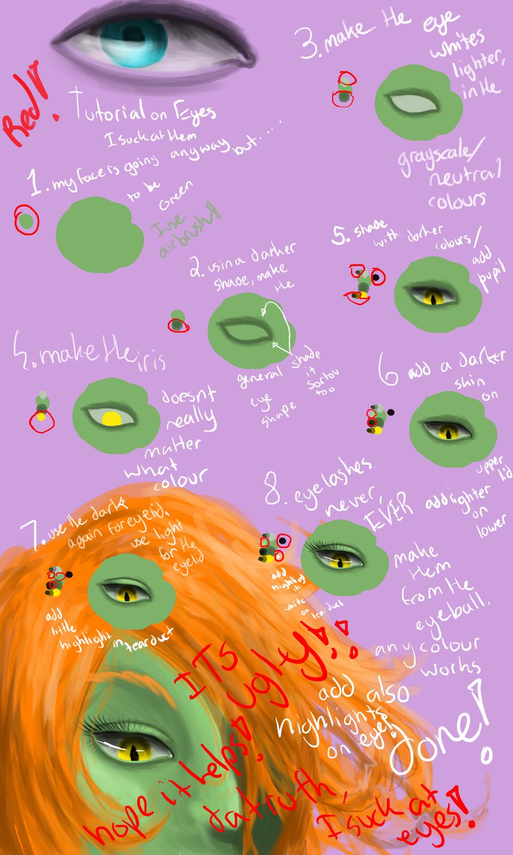 Eye Tutorial fail by Saige199