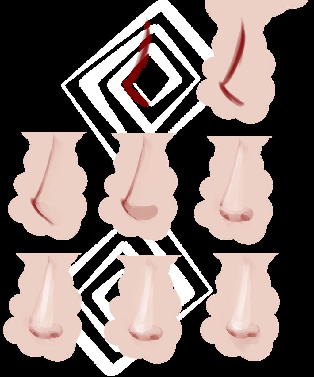 Nose Tutorial By Saige199 On DeviantArt