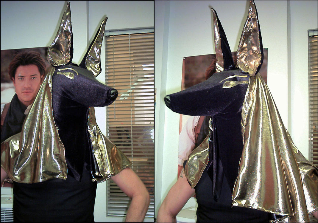 bast halloween costume anubis by bastblack