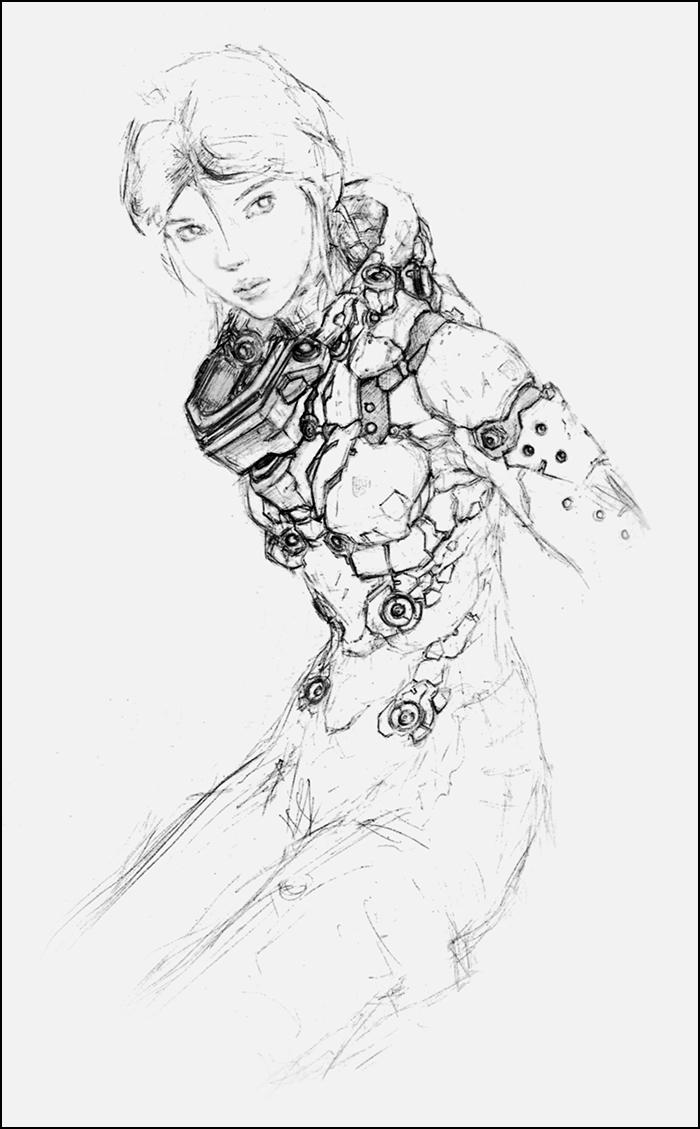 Alis: Chestplate Detail by Tabnir