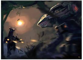 Black Lanner vs Annihilator by Tabnir