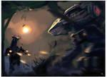 Black Lanner vs Annihilator