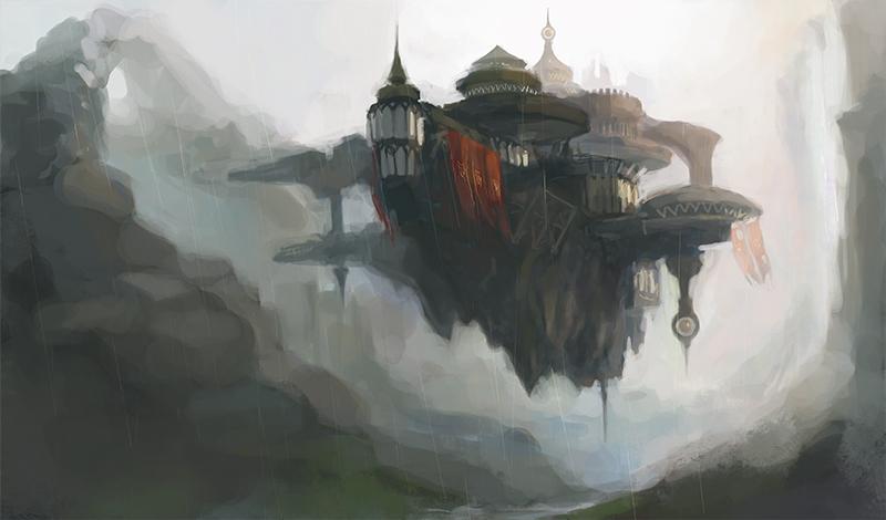 Castle by Tabnir