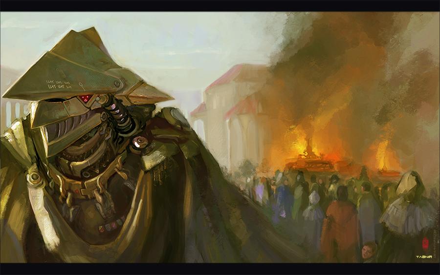 Witch Hunter by Tabnir