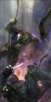 Starcraft 2: Ghost vs Spectre