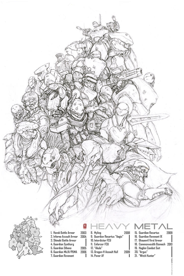 Heavy Metal: 7 Years of War by Tabnir
