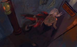 Yakuza Biker Riven by Tabnir