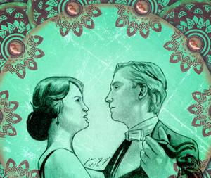 Mary and Mathew Crawley