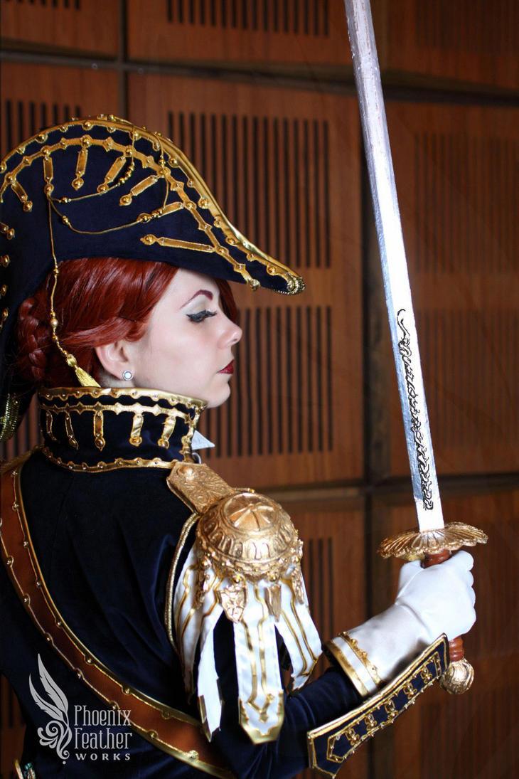 Swordswoman of Albion by xXAnemonaXx