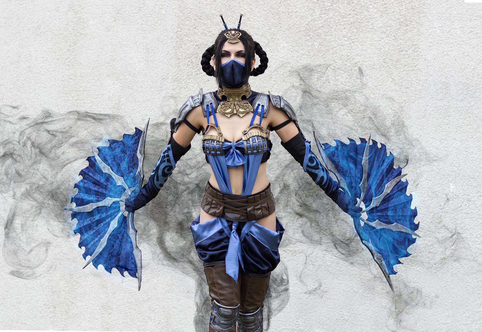 Kitana - Mortal Kombat X by xXAnemonaXx