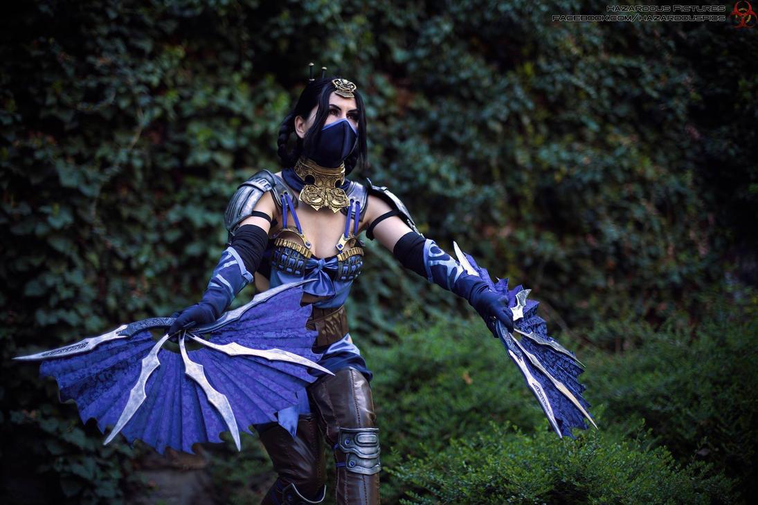 Rising Fan , Kitana , Mortal Kombat X by xXAnemonaXx
