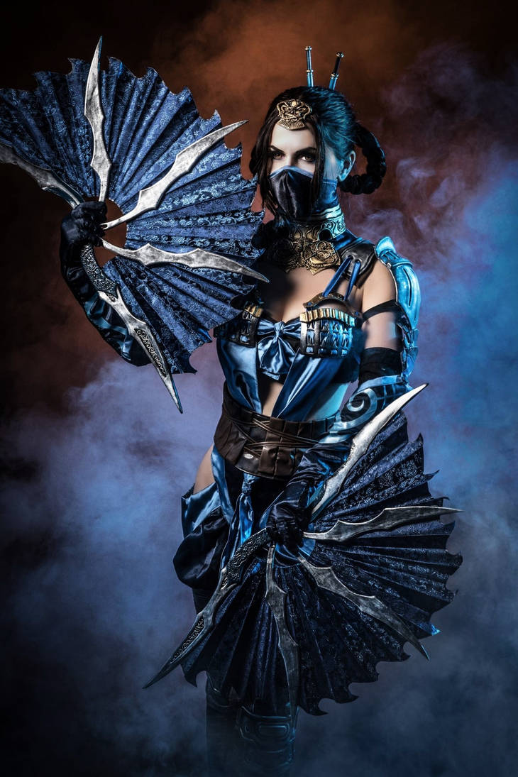 Kitana - Mortal Kombat X by xXAnemonaXx