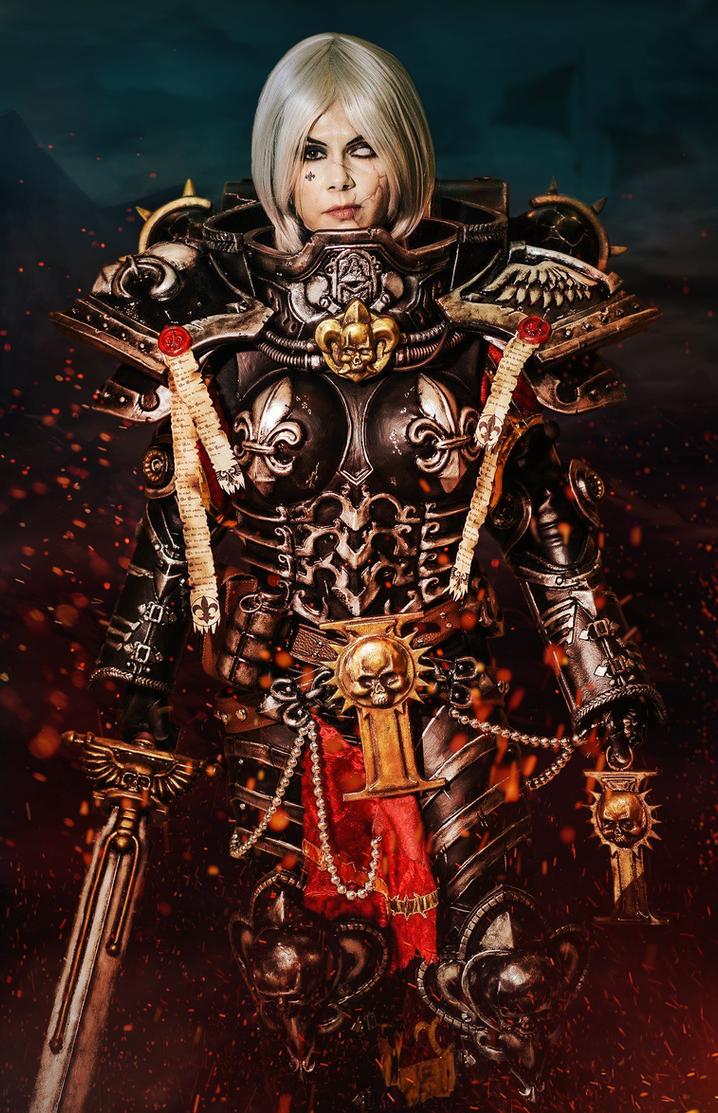 Battle Sister Celestian by xXAnemonaXx
