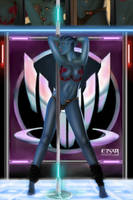 Asari Pole Dance by EinarIIM