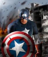 Captain America by EinarIIM