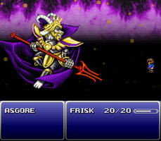 Asgore Final Fantasy VI Mockup