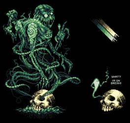 It Ain't Easy Being Green by Dracula9AntiChapel