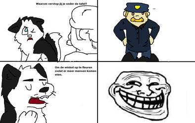Troll me. by Huskey1998