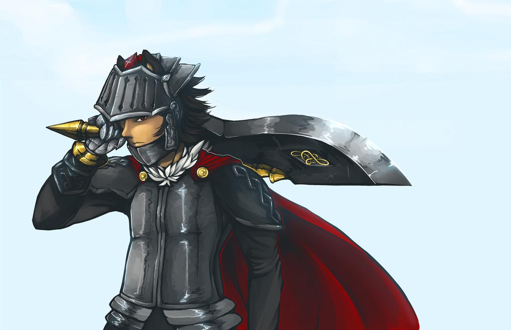 Sir Lancelot, Knight Of The Lake By Sakuma-kantoku On