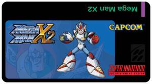 Mega Man X2 SNES Custom Label