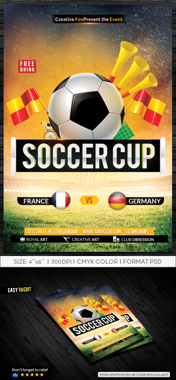 Soccer Cup by RoyalArt-BoleaVladut