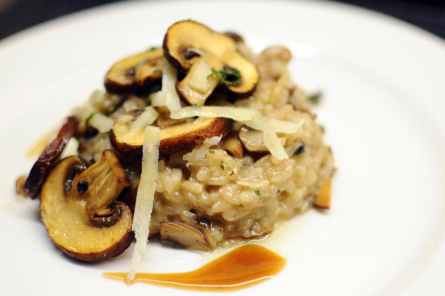 mushroom risotto by aperture24