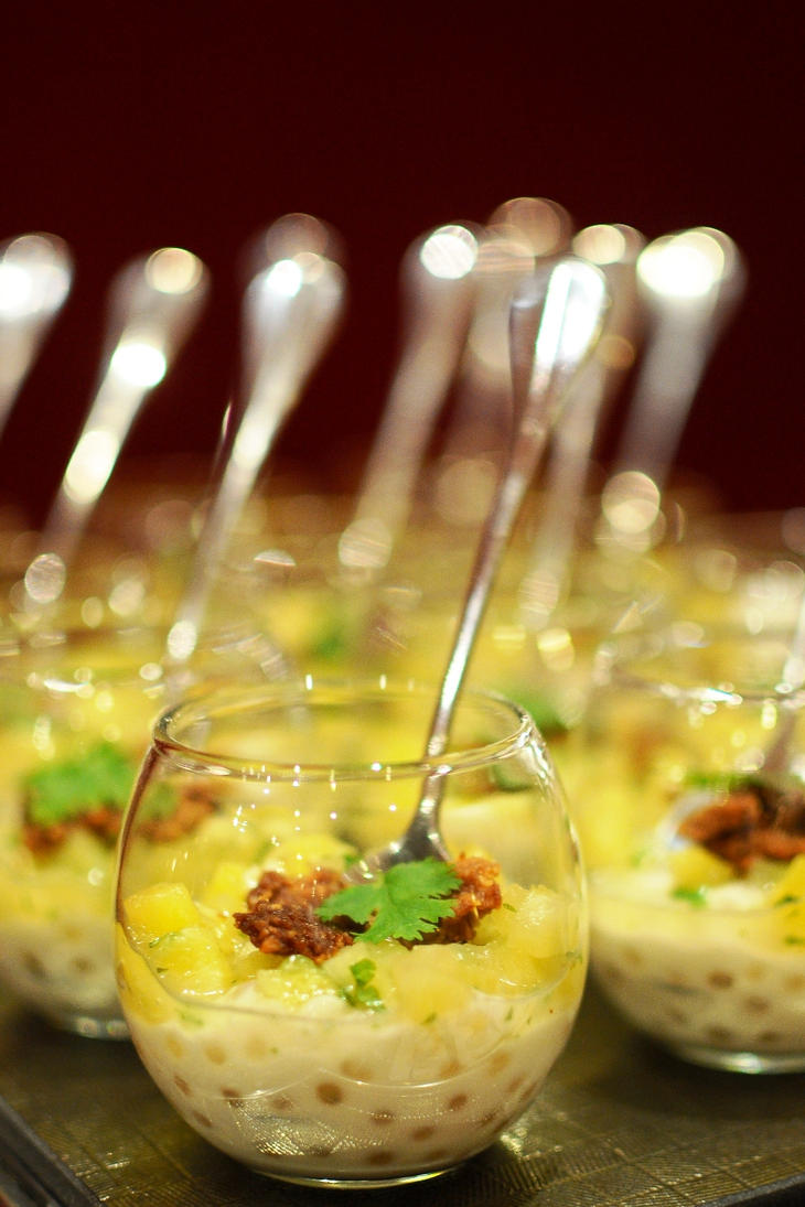 tapioca, coconut, pineapple, coriander by aperture24