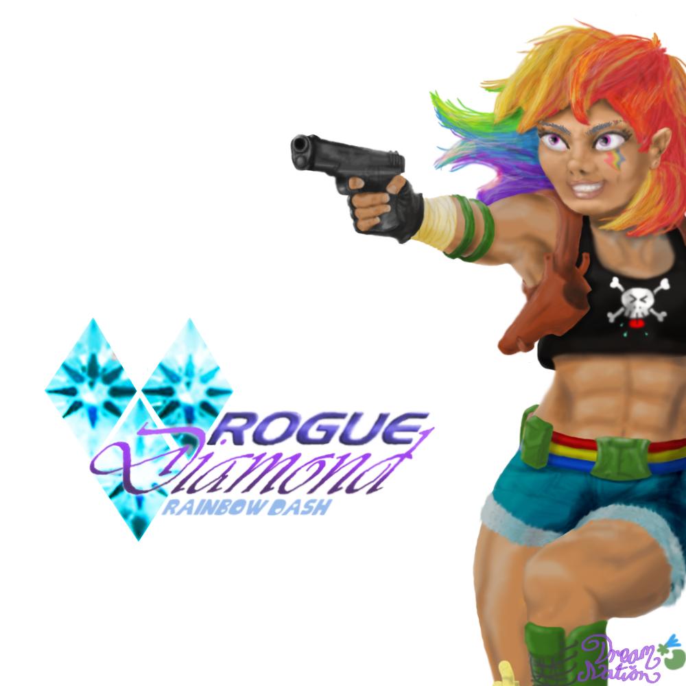 rogue_diamond_au___rainbow_dash_by_dream
