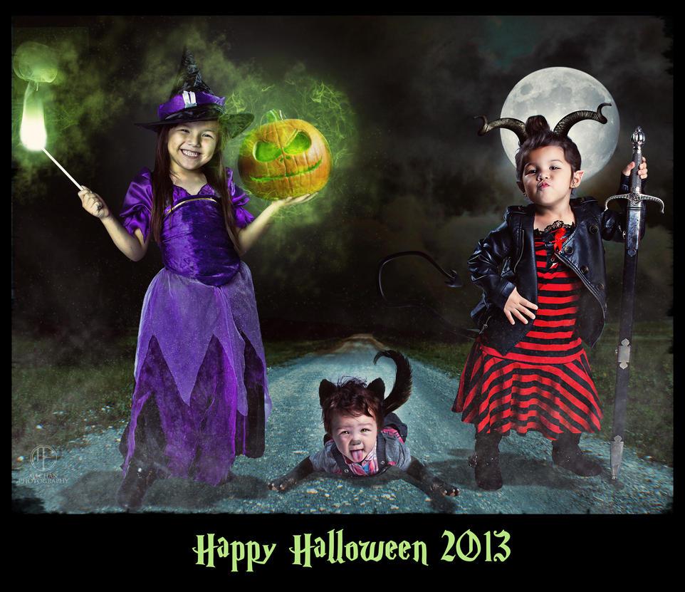 Happy Halloween 2013 by BlackBeltMO