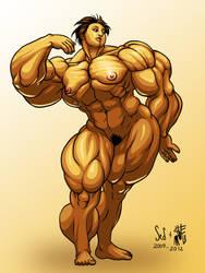 Golden Goddess by SweMu
