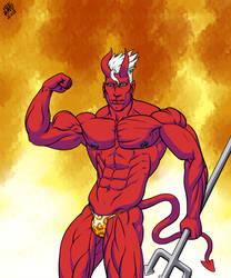 a hot cock hungry demon boi by SweMu