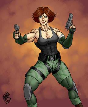 Meryl from Metal Gear Solid