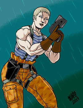 Olga from Metal Gear Solid 2