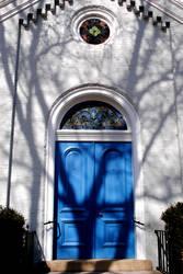 Church door shadows by shutterbabe2006
