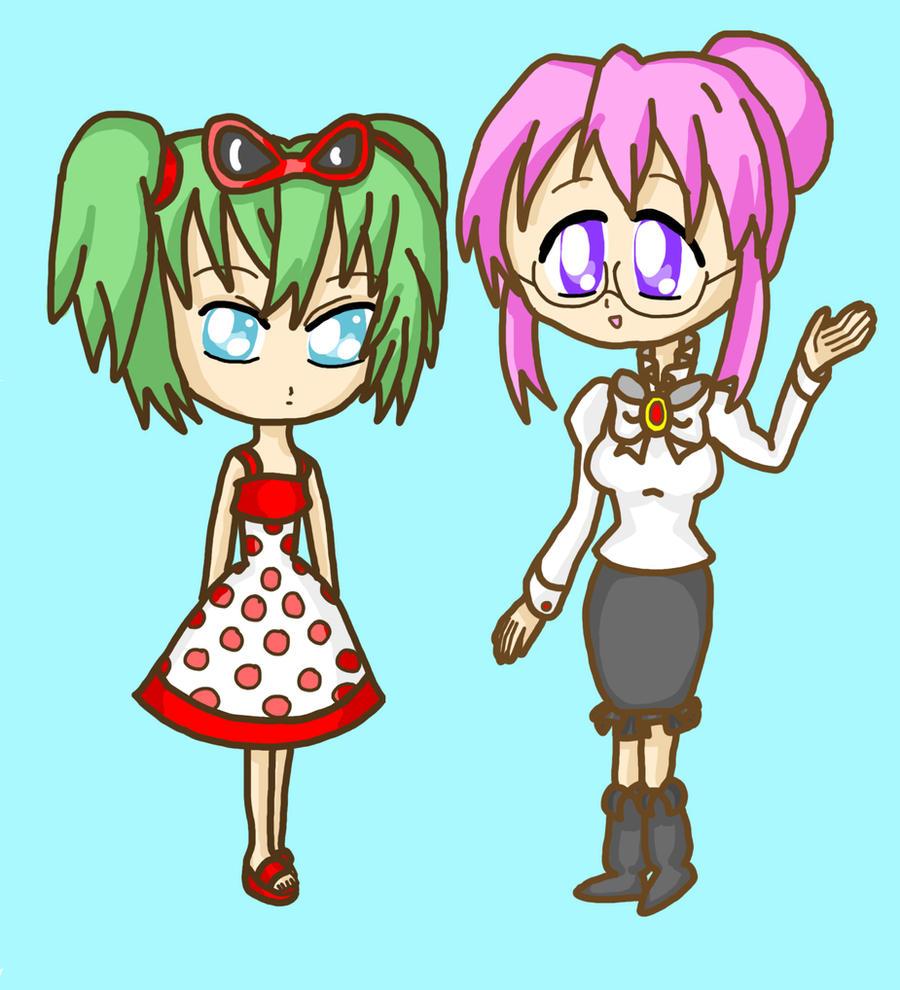 Mimi And Nastasia Cosplay by lillilotus