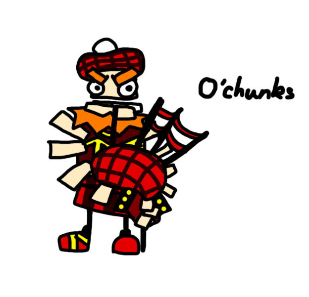 Scottish O'Chunks by lillilotus