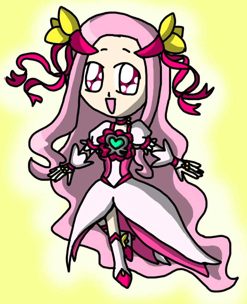 Chibi Cure Flower by lillilotus