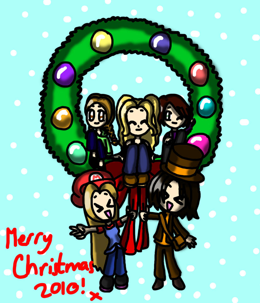 Merry Christmas, Deviants by lillilotus