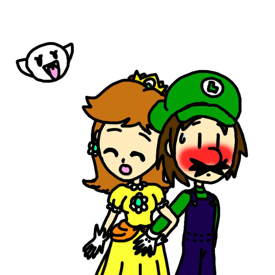 Quickie: Luigi X Daisy by lillilotus