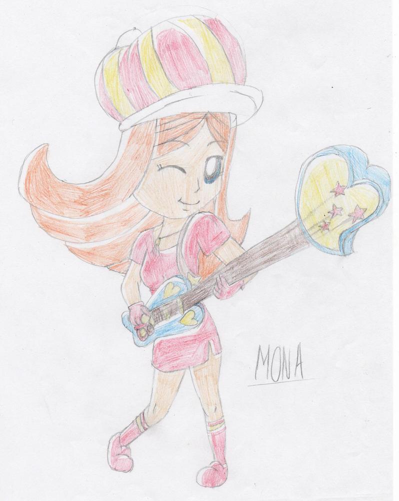 Mona by lillilotus