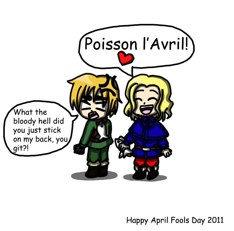 Hetalia: April Fools Day 2011 by lillilotus