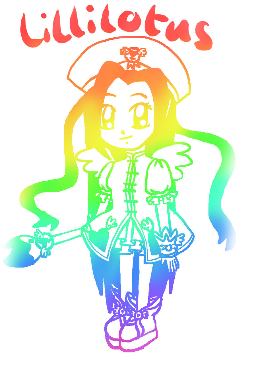 Rainbow Art: Lillilotus by lillilotus