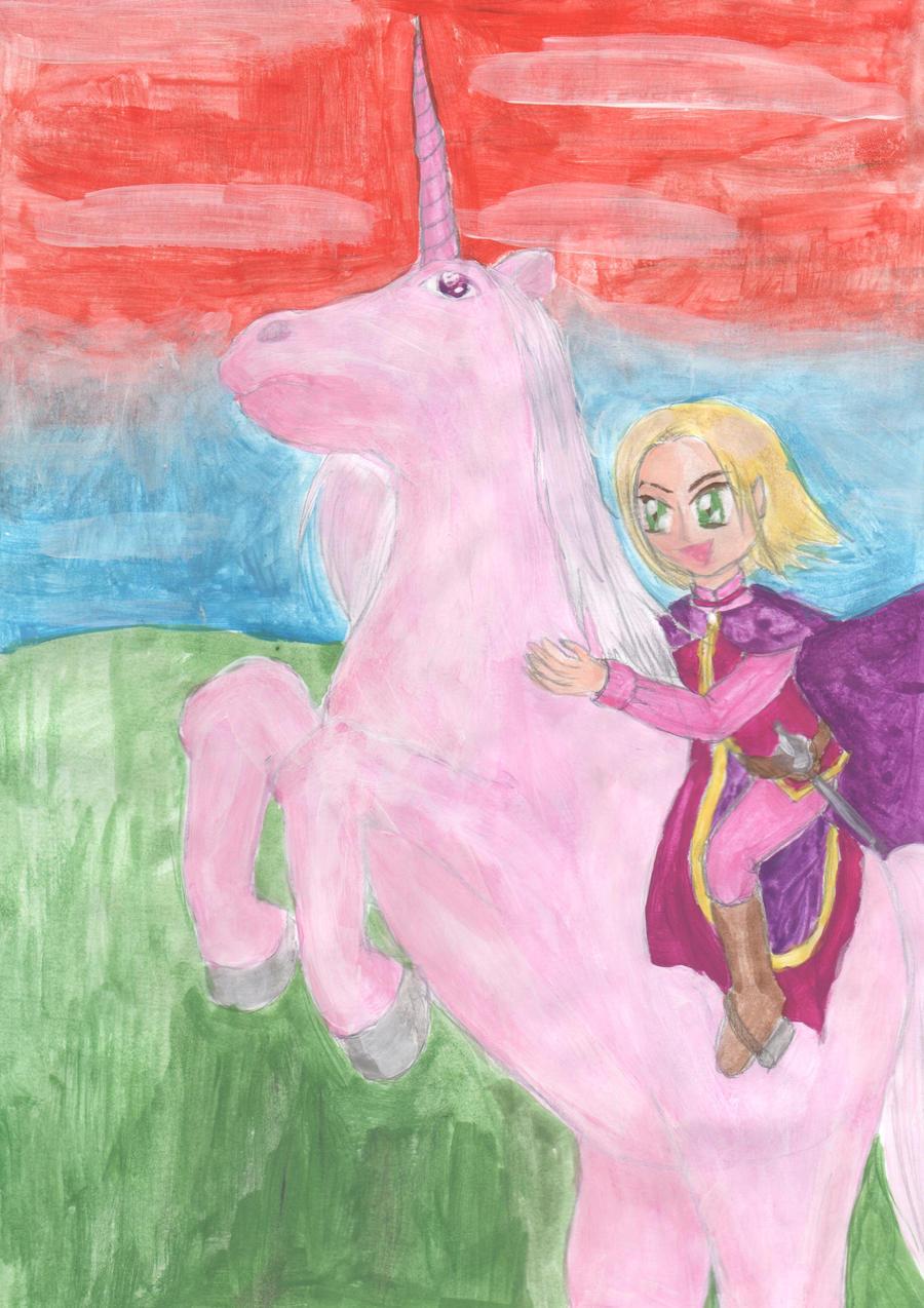 Polish Pink Unicorn by lillilotus